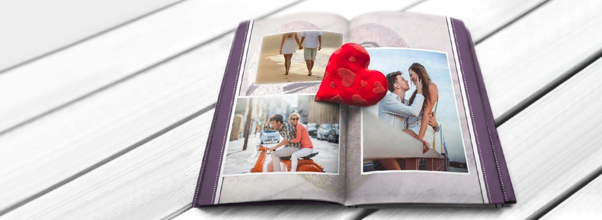 Fotobuch Premium Valentinstag