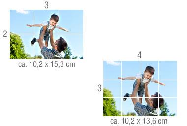 Fotos Beschnitt