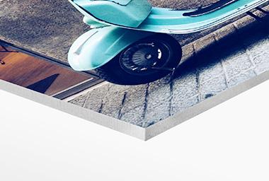 Foto auf Hartschaum-Platte Color Drack Foto auf Hartschaum-Platte Color Drack